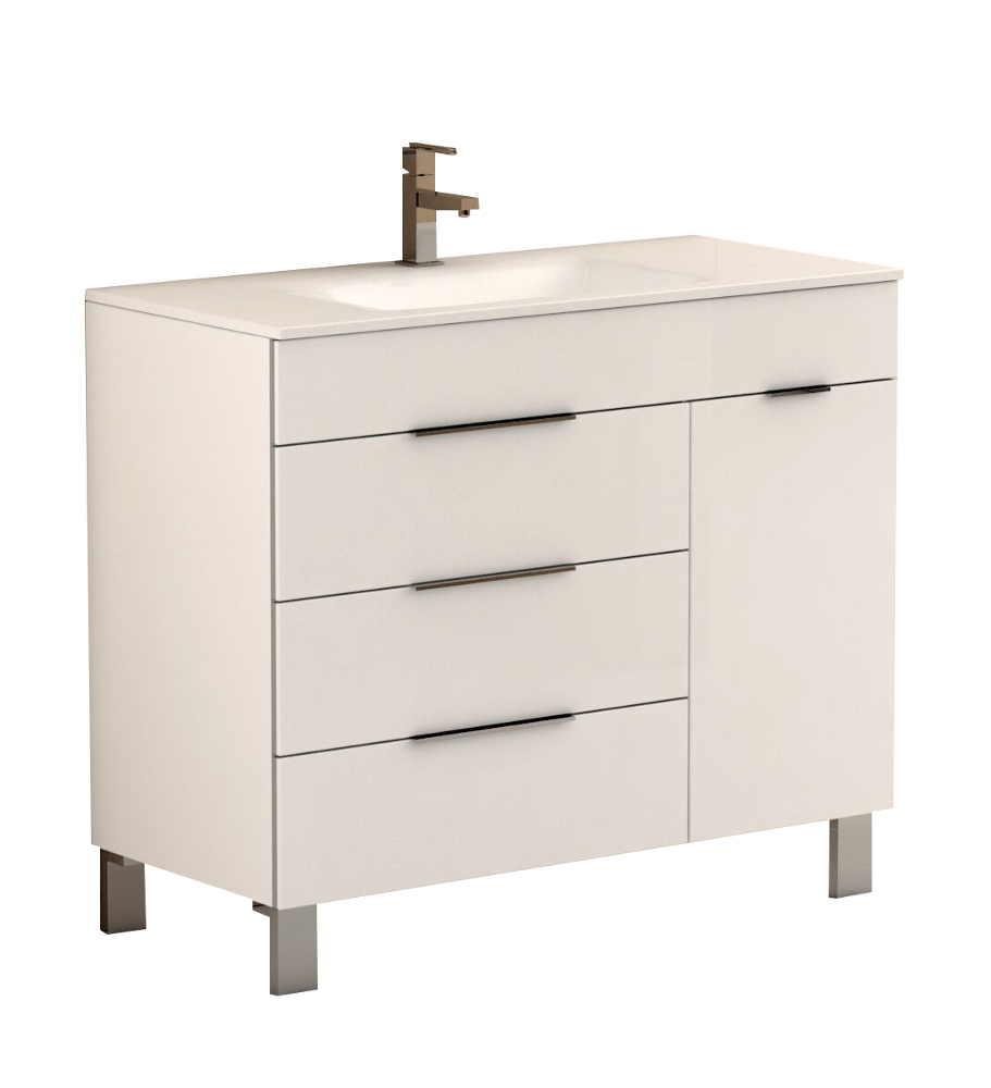 modern bathroom vanity white 32 fresca modello fvn6183wh white modern bathroom fresca. Black Bedroom Furniture Sets. Home Design Ideas