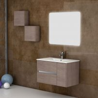 "EVVN533 32MOK A 01 202x202 - Eviva Aries 32"" Medium Oak Modern Bathroom Vanity  Wall Mount with White Integrated Porcelain sink"