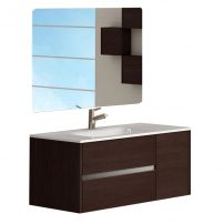 "EVVN533 32WG A Main 202x202 - Eviva Aries 32"" Wenge Modern Bathroom Vanity  Wall Mount with White Integrated Porcelain sink"