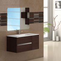 "EVVN533 39WG A 01 202x202 - Eviva Aries 39"" Wenge Modern Bathroom Vanity  Wall Mount with White Integrated Porcelain sink"