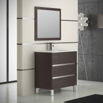 "EVVN534 32WG A 01 202x202 - Eviva Escorpio 32"" Wenge Modern Bathroom Vanity  Wall Mount with White Integrated Porcelain Sink"