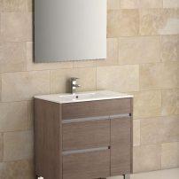 "EVVN535 32MOK A 01 202x202 - Eviva Tauro 32"" Medium Oak Modern Bathroom Vanity Set with Integrated White Porcelain Sink"