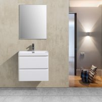 "EVVN600 24WH WM A 01 202x202 - Eviva Glazzy 24"" Wall Mount Modern Bathroom Vanity (High Glossy White)"