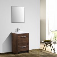 "EVVN600 8 24RSWD A 01 202x202 - Eviva Lugano 24"" Rosewood Modern Bathroom Vanity with White Integrated Acrylic Sink"