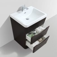 "EVVN650 25CHNT A 02 202x202 - Eviva Victoria 25"" Chest Nut Modern Bathroom Vanity with White Integrated Acrylic Sink"