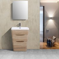 "EVVN650 25WHOK A 01 202x202 - Eviva Victoria 25"" White Oak Modern Bathroom Vanity with White Integrated Acrylic Sink"
