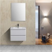 "EVVN700 28WH WM A 01 202x202 - Eviva Glazzy 28"" Wall Mount Modern Bathroom Vanity Set with Integrated White Acrylic Sink (High Glossy White)"