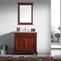 "EVVN709 36TK A 01 202x202 - Eviva Elite Stamford 36"" Brown Solid Wood Bathroom Vanity Set with Double OG Crema Marfil Marble Top & White Undermount Porcelain Sink"