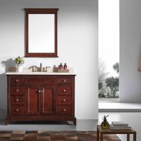 """EVVN709 48TK CABINETONLY NOTOP A 01 202x202 - Eviva Elite Stamford 48"""" Brown Solid Wood Bathroom Cabinet Only Without Top"""