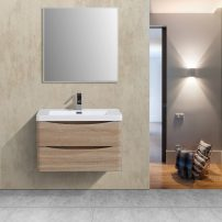 "EVVN760 30WHOK WM A 01 202x202 - Eviva Smile 30"" White Oak Wall Mount Modern Bathroom Vanity Set with Integrated White Acrylic Sink"