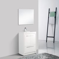 EVVN765 30WH A Main 202x202 - Eviva Grace 30 in. White Bathroom Vanity with White Integrated Acrylic Countertop