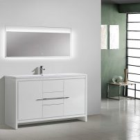 EVVN765 60WH SS A 01 202x202 - Eviva Grace 60 in. White Bathroom Vanity with Single White Integrated Acrylic Countertop