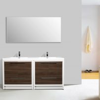 EVVN765 72GOK WH A Main 202x202 - Eviva Grace 72 in. Gray Oak and White Bathroom Vanity with Double White Integrated Acrylic Countertop