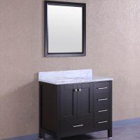 "TVN299 36ES A 01 202x202 - Totti Shaker 36"" Transitional Espresso Bathroom Vanity with White Carrera Countertop"